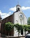 woudrichem - rijksmonument 39587 - vissersdijk 15 - rk kerk van johannes nepomuk 20120630