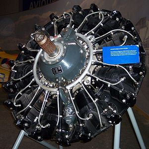 Wright R-1820 Cyclone - Curtiss-Wright R-1820 Cyclone Radial Engine