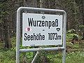 Wurzenpass, bordje bergpas Wurzenpass 2011-07-18 17.35.jpg