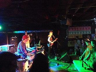 Wye Oak (band) - Wye Oak at Larimer Lounge in Denver, Colorado.