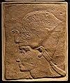 Xviii dinastia, rilievo di re amenhotep III, da tebe, 1370-1353 ac ca.jpg