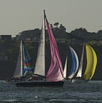 Yachts racing during Round the Island Race 2010 6.jpg