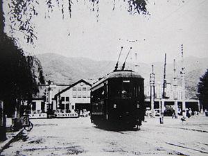 Yamanashi Kotsu Railway Line circa 1946.JPG