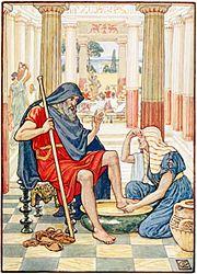 Yea, Verily, thou art odysseus