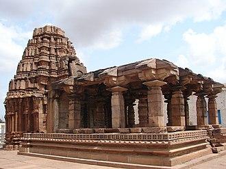 Renuka - Yellamma temple at Badami.