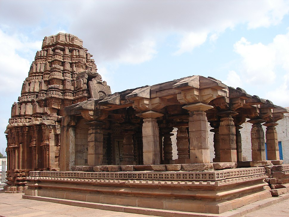 Yellamma temple at Badami, early phase construction, 11th century