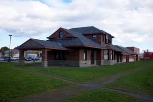 York Street station (New Brunswick) - Image: York Street railway station 2