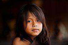 Young Ashaninka girl in an Apiwtxa village, Acre state, Brazil.jpg