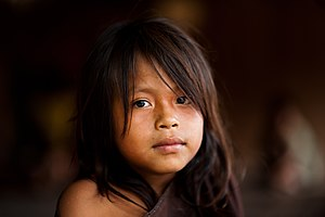 Young Ashaninka girl in an Apiwtxa village, Acre state, Brazil.jpg
