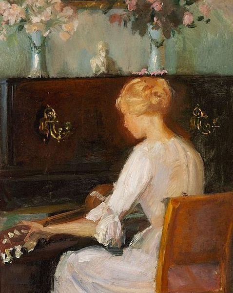 File:Young Woman Playing a Guitar Before a Piano (Anna Ancher).jpg