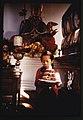 Young girl, Kimu, carrying a birthday cake through the Lachung Monastery, Sikkim LOC 8385171986.jpg