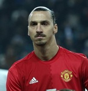 Zlatan Ibrahimović - Ibrahimović with Manchester United in 2016
