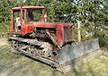 Zawada Rybakowka, Puszcza Notecka kolo Drawskiego Mlyna (DT-75 tractor).JPG