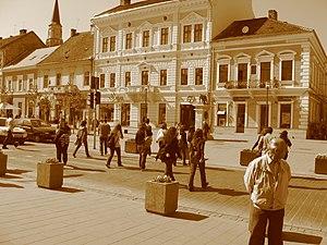 Zebra Crossing, Eroilor Avenue, Cluj Napoca, Romania