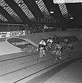Zesdaagse wielrennen RAI Amsterdam, tweede dag. Koppel Duyndam-Eugen in aktie, Bestanddeelnr 923-0716.jpg