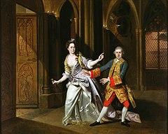 Garrick e Pritchard come Macbeth e Lady Macbeth, di Johann Zoffany (1768)