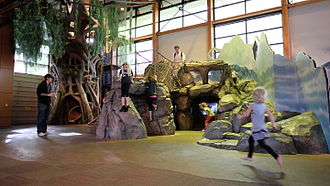 Woodland Park Zoo - The Zoomazium play area for kids