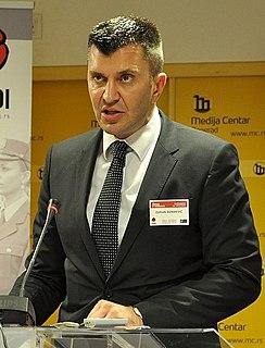 Zoran Đorđević (politician) Serbian politician