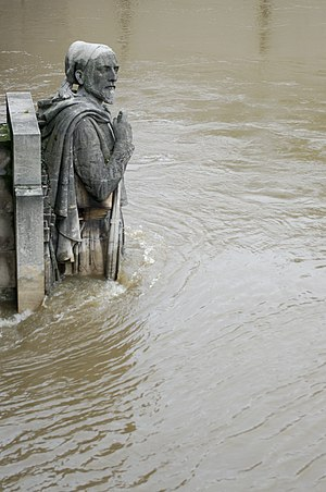 Pont de l'Alma - The Zouave statue, 3 June 2016