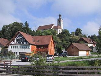 Zuzwil, St. Gallen - Image: Zuzwil Kirche