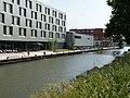 Zwemmende kinderen in de Vaartsche Rijn 1.jpg