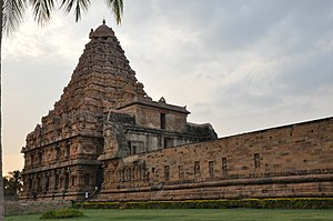 Chola expedition to North India - Gangaikonda Cholapuram was built by Rajendra Chola to celebrate his success in the Ganges Expedition