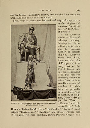 Dickens and Little Nell (Elwell) - Dickens and Little Nell at the Columbian Exposition, Chicago, 1893