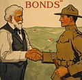 """""""Good bye, Dad, I'm off to fight for Old Glory, you buy U.S. gov't bonds"""" Third Liberty Loan - - Lawrence Harris ; Sackett & Wilhelms Corp. N.Y. LCCN2002711986 (cropped).jpg"""