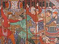 """Hamza's Heroes Fight in Support of Qasim and Badi'uzzaman"", Folio from a Hamzanama (The Adventures of Hamza) MET sf18-44-2c.jpg"