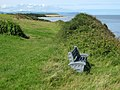 """Sarah's Seat"" on the coastal path east of Lilstock - geograph.org.uk - 1436788.jpg"