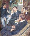 'At Renoir's Home' by Pierre-Auguste Renoir, Norton Simon Museum.JPG