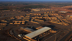 Balad, Iraq - Balad Air Base following the withdraw of U.S. forces