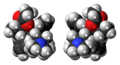 (R,R) and (S,S)-Alphacetylmethadol isomers spacefill.png