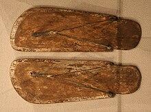 Dřevěné žabky z Egypta 749894a6908