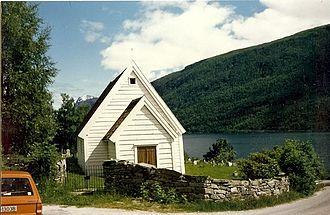Ålfoten - Image: Ålfoten kirke Bremanger