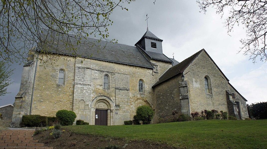 Église à Jonchery.