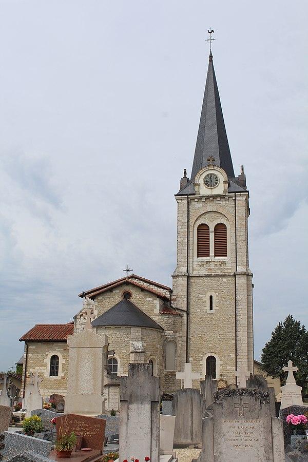 Photo de la ville Polliat