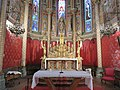 Église Saint-Louis d'Uza - Autel et chœur (mai 2018).jpg