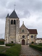 glise saint parres de saint parres aux tertres wikip dia. Black Bedroom Furniture Sets. Home Design Ideas