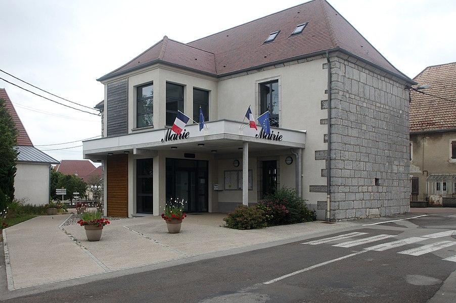 Mairie d'Épenoy (Doubs).