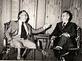 Întâlnirea lui Nicolae Ceaușescu cu Luis Corvalan, secretar general al Partidului Comunist din Chile, care, la invitația C.C. al P.C.R., a efectuat o vizită de prietenie în țara noastră. (23 mai1977).jpg