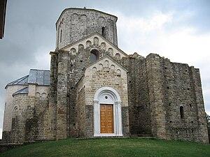Stefan Nemanja - Đurđevi Stupovi monastery, founded by Stefan Nemanja