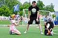 "Детская творческая площака ""Поколенние М"" на турние по мини-футболу в Новосибирске.jpg"