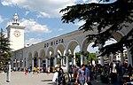 Залізничний вокзал у Сімферополі