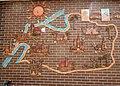 Здание пансионата «Ильзе», карта на стене, улица Октябрьская, 13, Светлогорск, Калининградская область.jpg