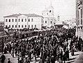 Крестных ход вокруг Вознесенского собора в Ельце. Фото начала XX века.jpg