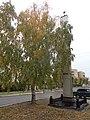 Место боя с белочехами за Троицк. Установлена стела улица Ленина, у гор.б-цы 11.jpg