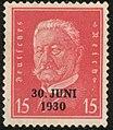 Президент Гинденбург. Надпечатка 30 июня 1930.jpg