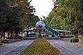 Реактивний пасажирський літак Ту-104, встановлений в житомирському парку імені Юрія Гагаріна.jpg