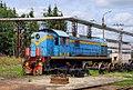 ТЭМ2-813, Russia, Bryansk region, Bryansk Engineering Plant (Trainpix 138111).jpg